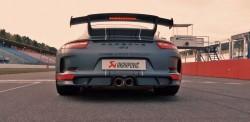 Porsche 911 GT3 Screams With Akrapovic Exhaust