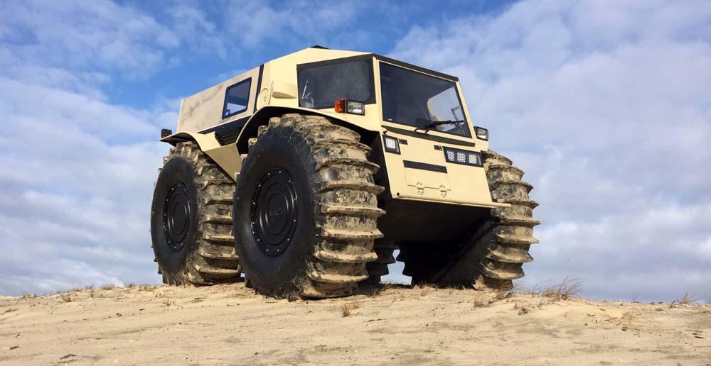 Photo of To ρώσικο Sherp ATV πάει παντού [vid]