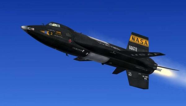 X-15 Aircraft (5)