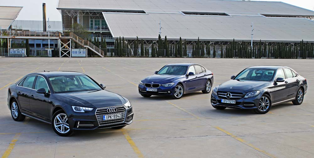 Photo of Audi A4 1.4 TFSI vs BMW 318i vs Mercedes-Benz C180 [test drive]