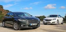 Ford Mondeo TDCi vs Opel Insignia CDTI caroto test drive 2016 (41)