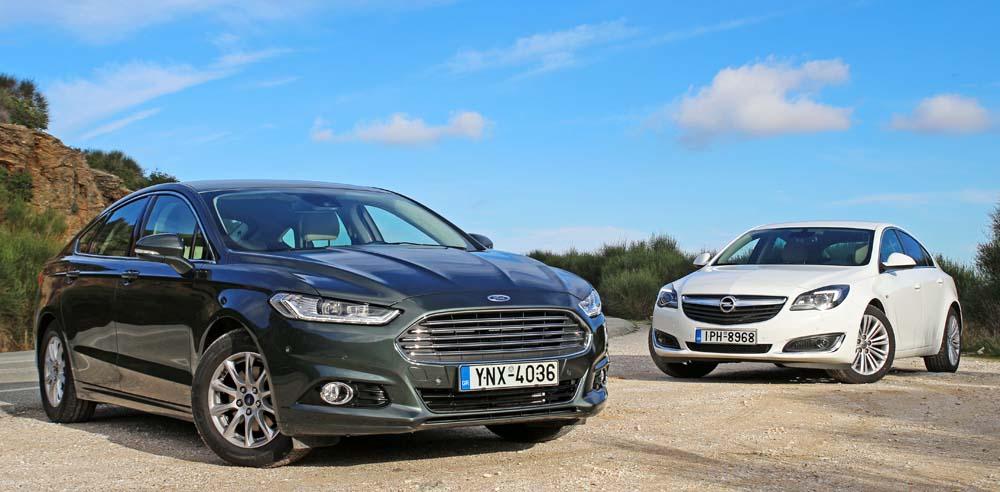 Photo of Ford Mondeo 1.5 TDCi vs Opel Insignia 1.6 CDTI [test drive]