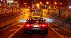 Jaguar F-TYPE SVR  SVR Roars in Park Avenue Tunnel