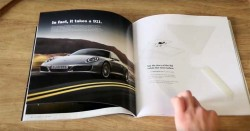 Porsche debuts hologram ad for new 911