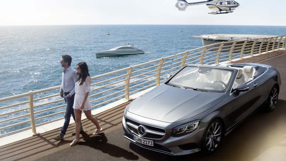 Photo of Mercedes-Benz σε ξηρά, θάλασσα και αέρα [vid]
