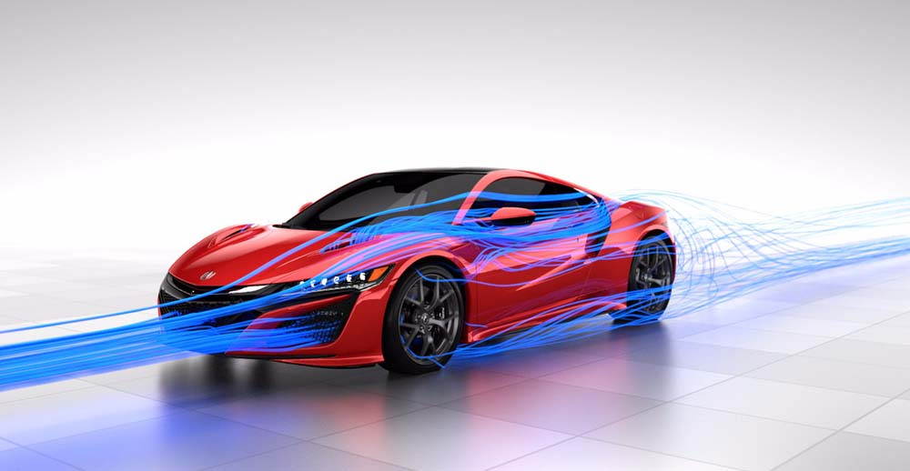 Photo of Total Airflow για το Honda NSX
