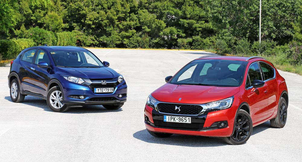 Photo of Honda HR-V vs DS 4 Crossback [test drive]