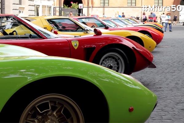 Photo of 50 χρόνια Lamborghini Miura [vid]