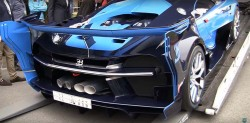 Bugati Vision Gran Turismo Runs Out Of Fuel In Pebble Beach (1)