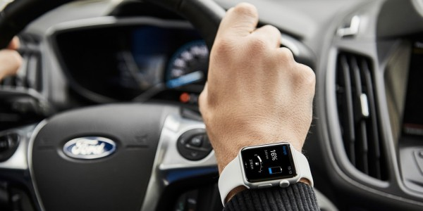 Drivers Can Now Use a Smartwatch to Check That Their Ford Electr