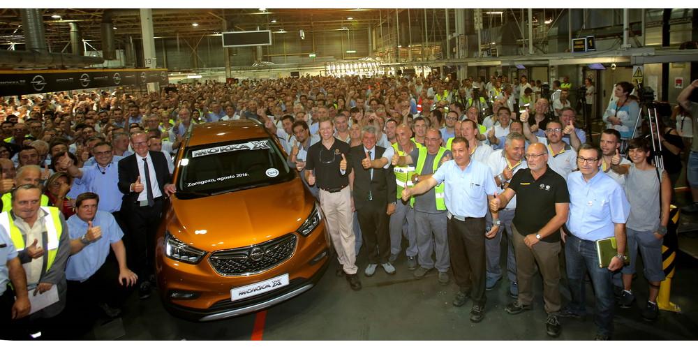 Photo of Ξεκίνησε η παραγωγή του Opel Mokka X στην Ισπανία