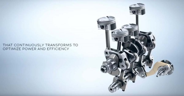 Infiniti VCR Engine Video (3)