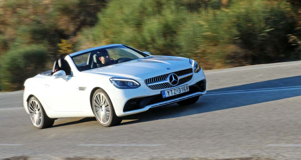 Photo of Mercedes-Benz SLC 180 [test drive]