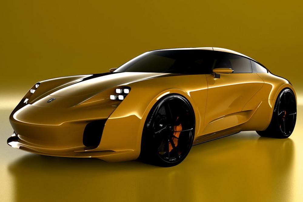 Photo of Σχεδιαστής της Bugatti δημιουργεί την Porsche 911 του αύριο