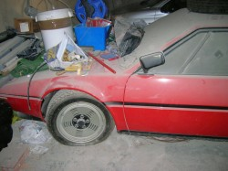 BMW M1 old dusted  (14)