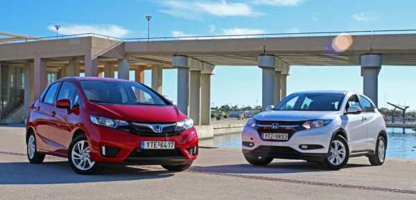 Honda Jazz HR-V CVT versions caroto test drive 2016 (1)