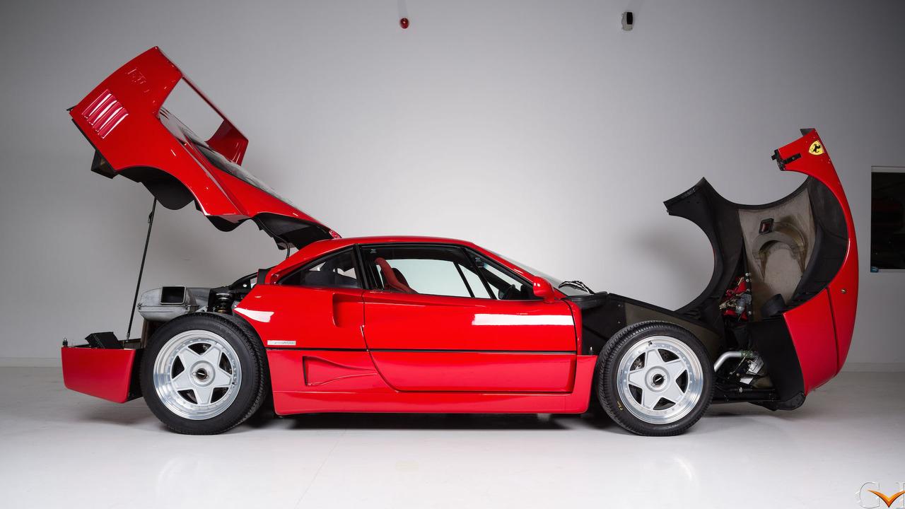 Photo of Πωλείται η Ferrari F40 του Eric Clapton [vid]