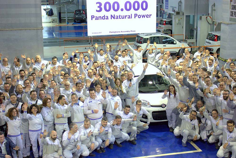 Photo of Πόσα Fiat Panda με φυσικό αέριο έχουν κατασκευαστεί στο Pomiglian;