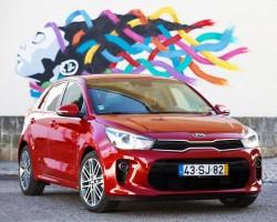 Kia Rio Lisbon test Drive 2017 (2)