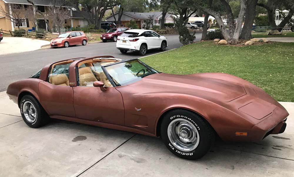 Photo of Μία Corvette του 1979 με τέσσερις πόρτες;