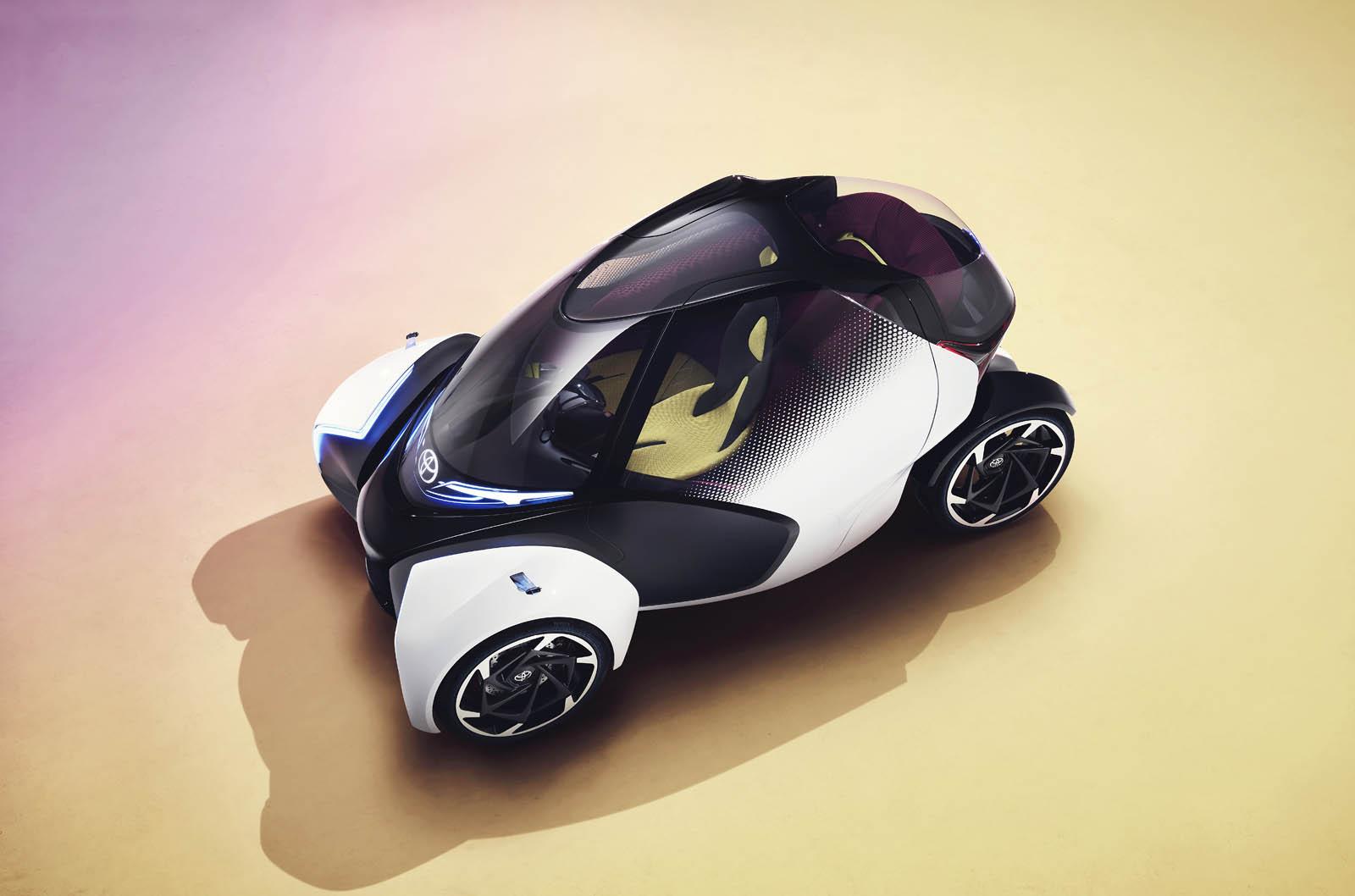 Photo of Toyota i-TRIL για το μέλλον της αυτοκίνησης