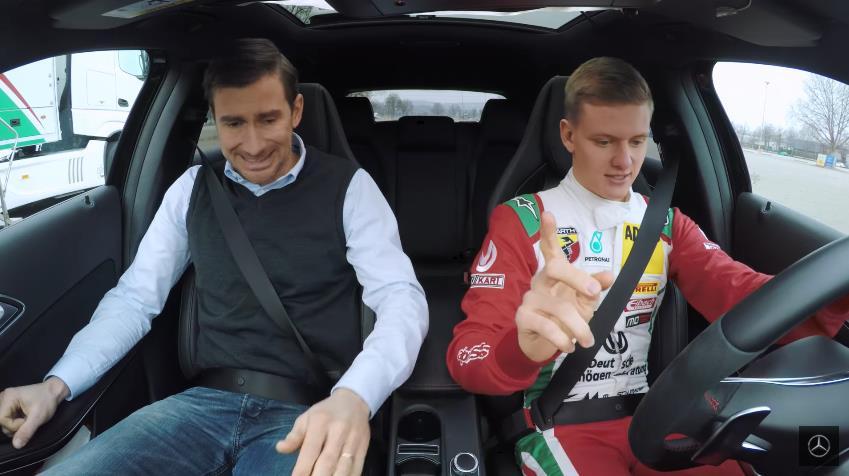 Photo of Στο τιμόνι ο γιος του Michael Schumacher [vid]