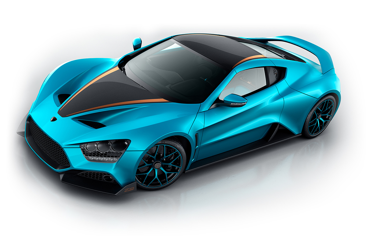 Photo of To επετειακό Zenvo TS1 GT των 1.180 ίππων!