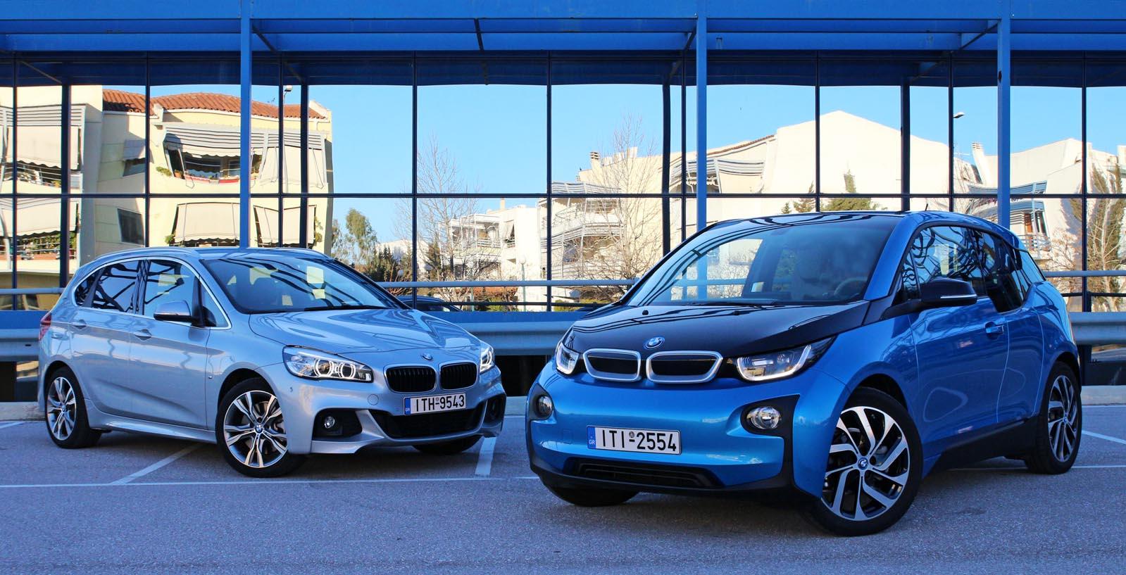Photo of BMW i3 vs BMW 225xe [test drive]