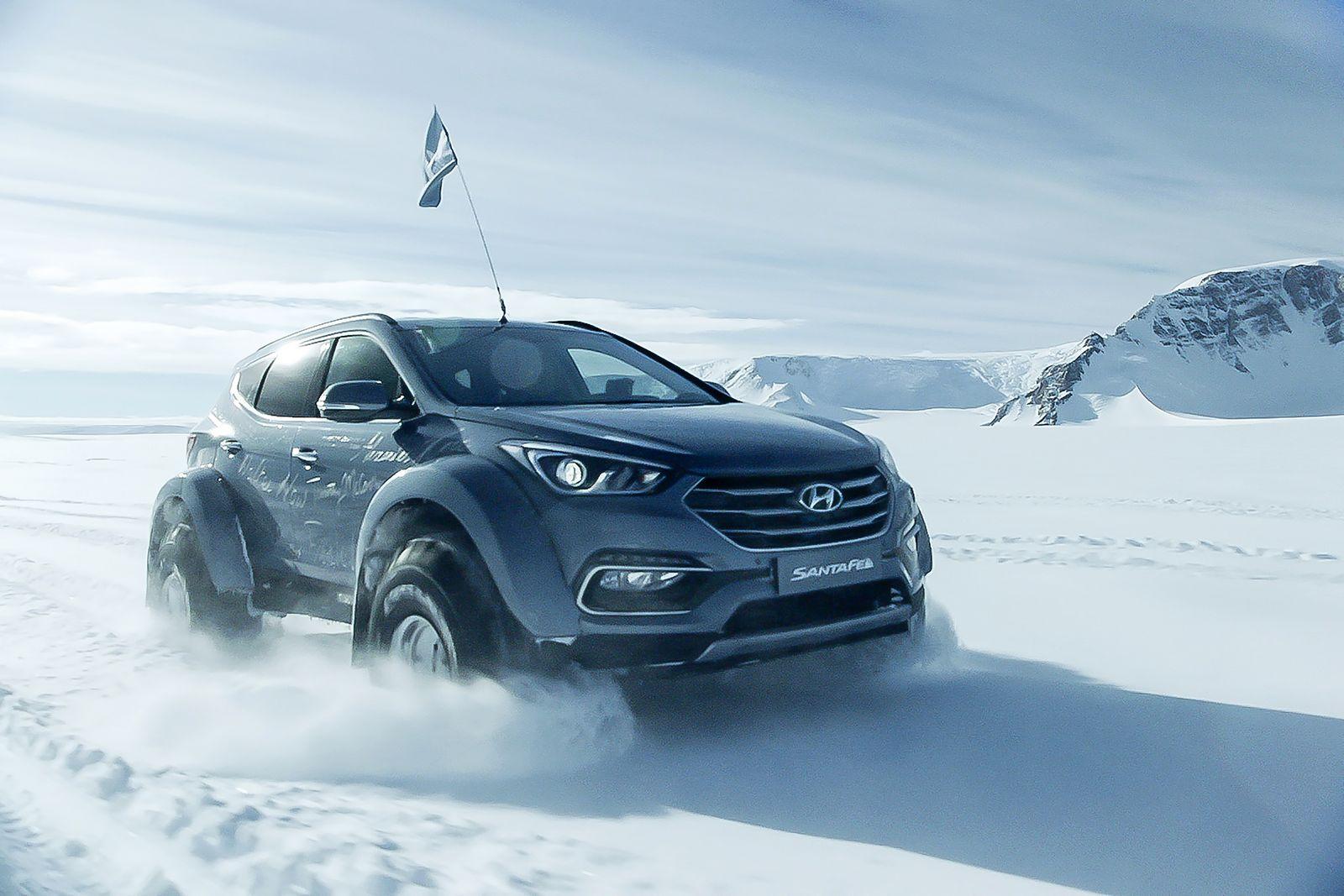 Photo of To Hyundai Santa Fe είναι το πρώτο επιβατικό αυτοκίνητο που διέσχισε την Ανταρκτική [vid]