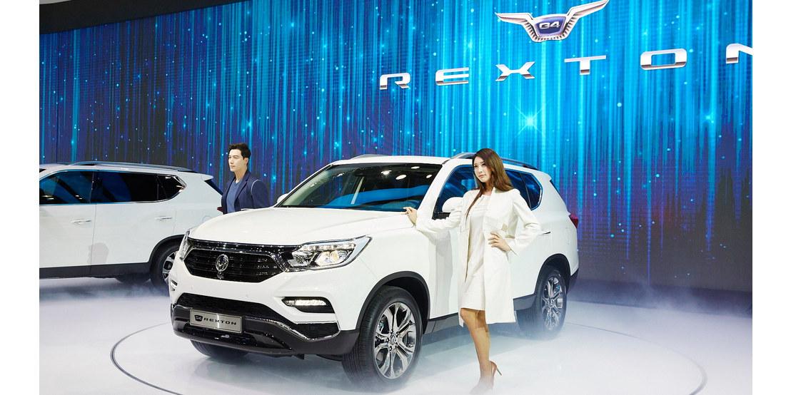 Photo of Το νέο SsangYong Rexton παρουσιάστηκε στην Σεούλ
