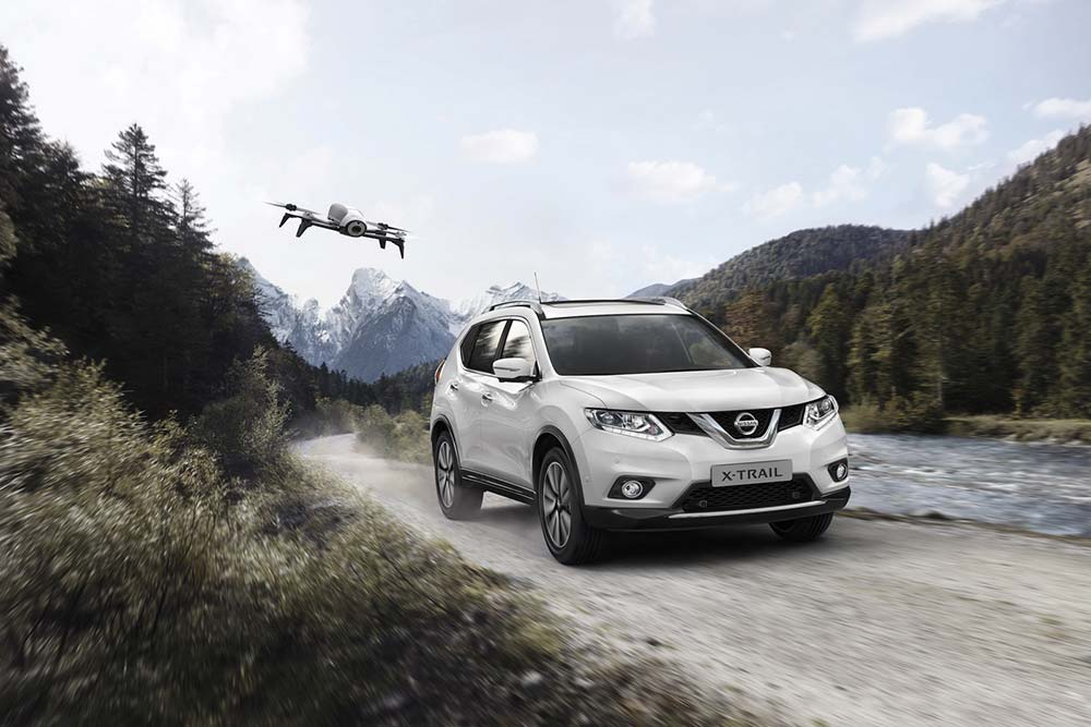 Photo of Ειδική έκδοση Nissan X-Trail, με drone