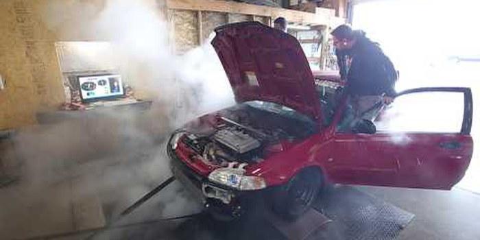 Photo of Δείτε πως έσκασε το μοτέρ ενός Honda Civic με 500 άλογα [vid]