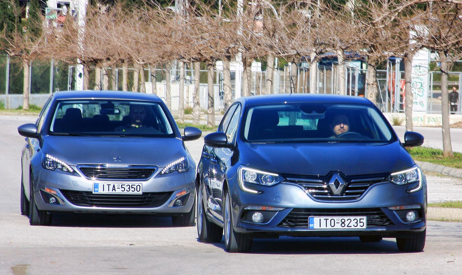 Photo of Peugeot 308 1.6 BlueHDI vs Renault Megane 1.5 dCi 110 [test drive]