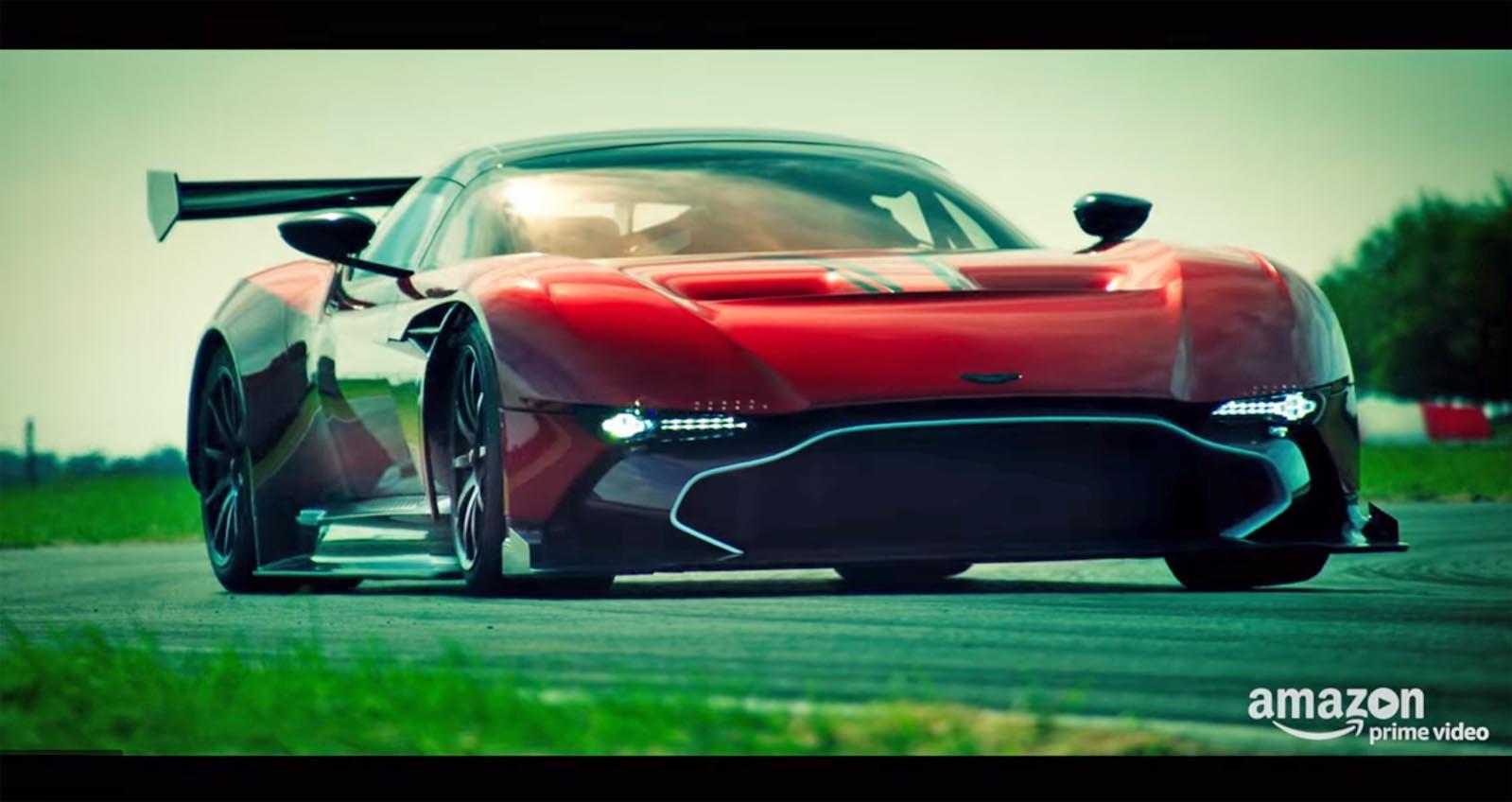 Photo of Τι φωνάζει ο Clarkson μέσα από την Aston Martin Vulcan;
