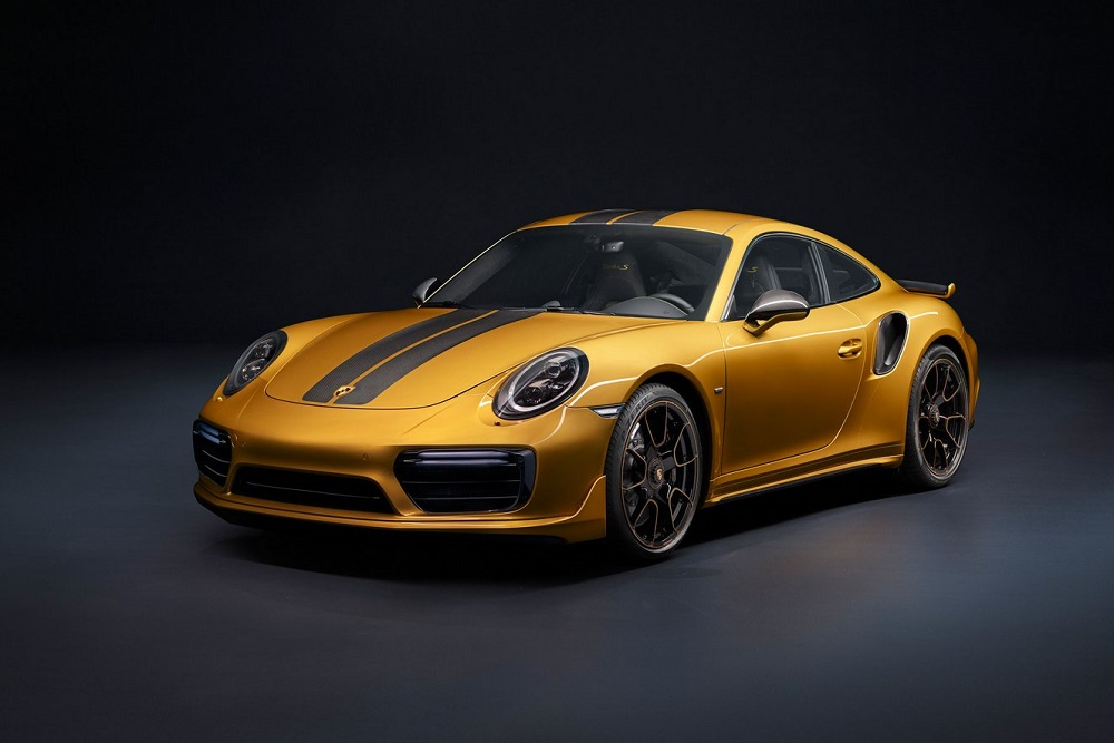 Photo of Porsche 911 Turbo S Exclusive Series