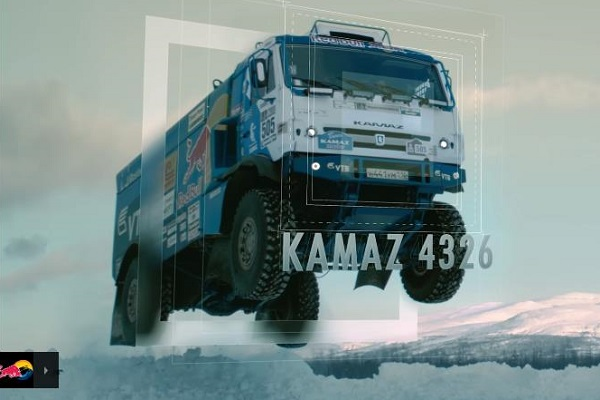 Photo of Άλμα 37 μέτρων από φορτηγό Kamaz! [vid]