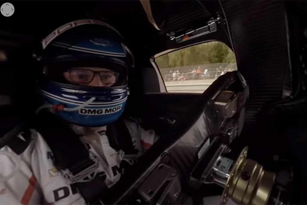 Photo of Le Mans, από τη θέση του οδηγού της Porsche 919 Hybrid [vid 360]