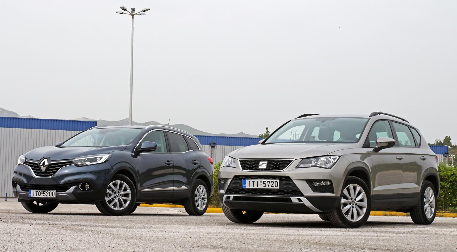 Photo of Renault Kadjar 1.2 TCe vs SEAT Ateca 1.0 TSI [test drive]
