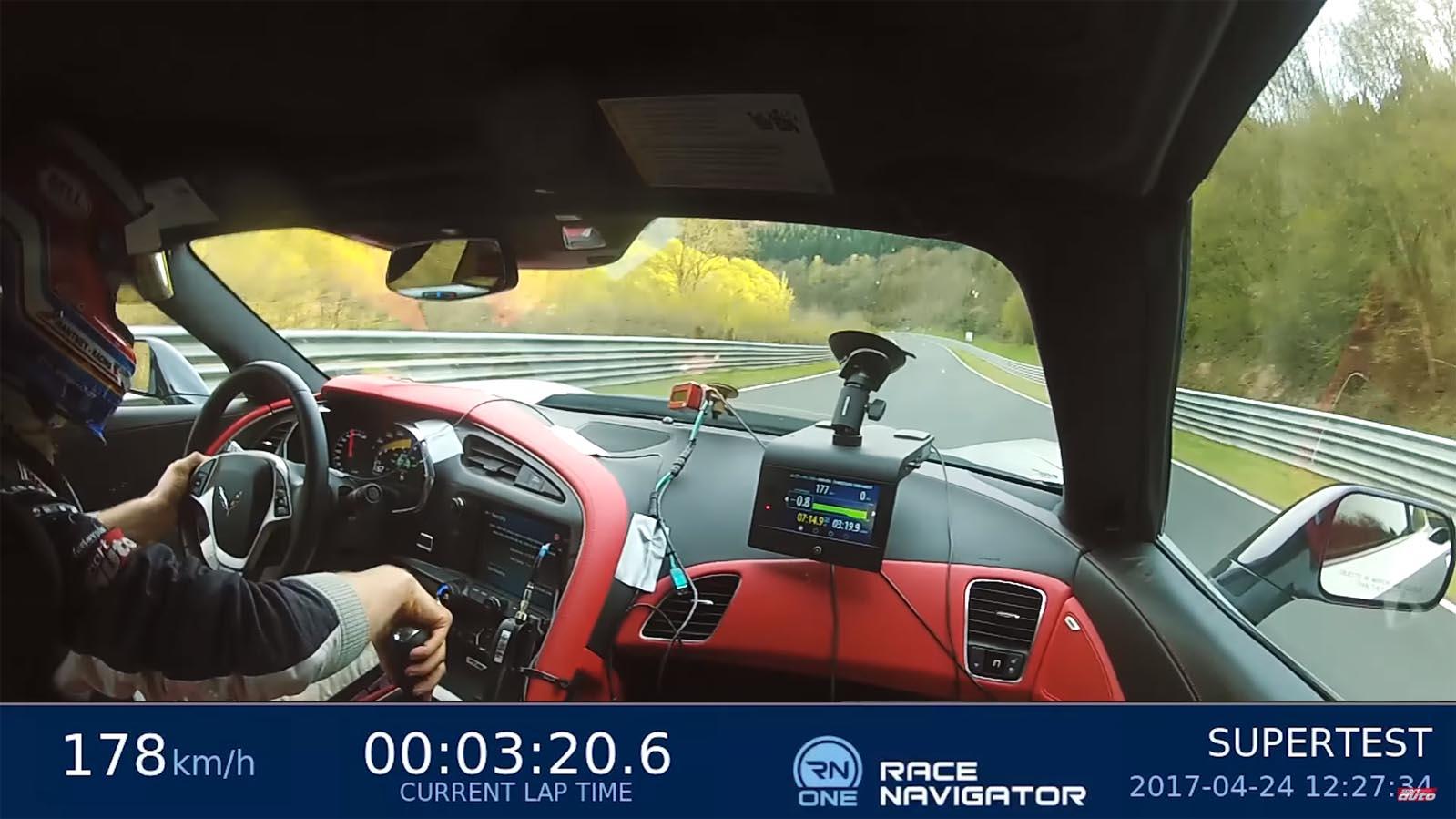 Photo of Στo Nurburgring με την Corvette Z06 [vid]