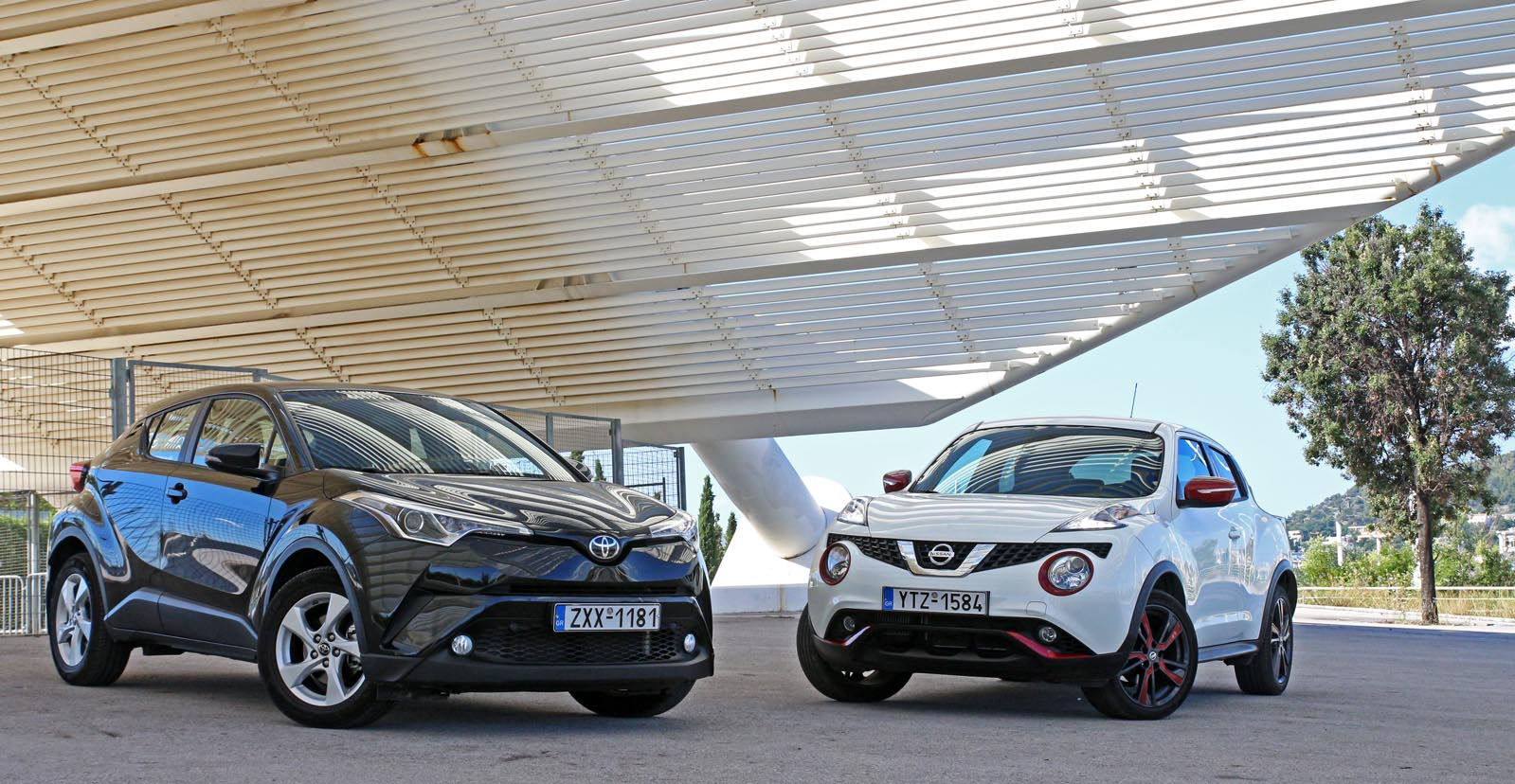 Photo of Nissan Juke 1.2 DIG-T vs Toyota C-HR 1.2T [test drive]