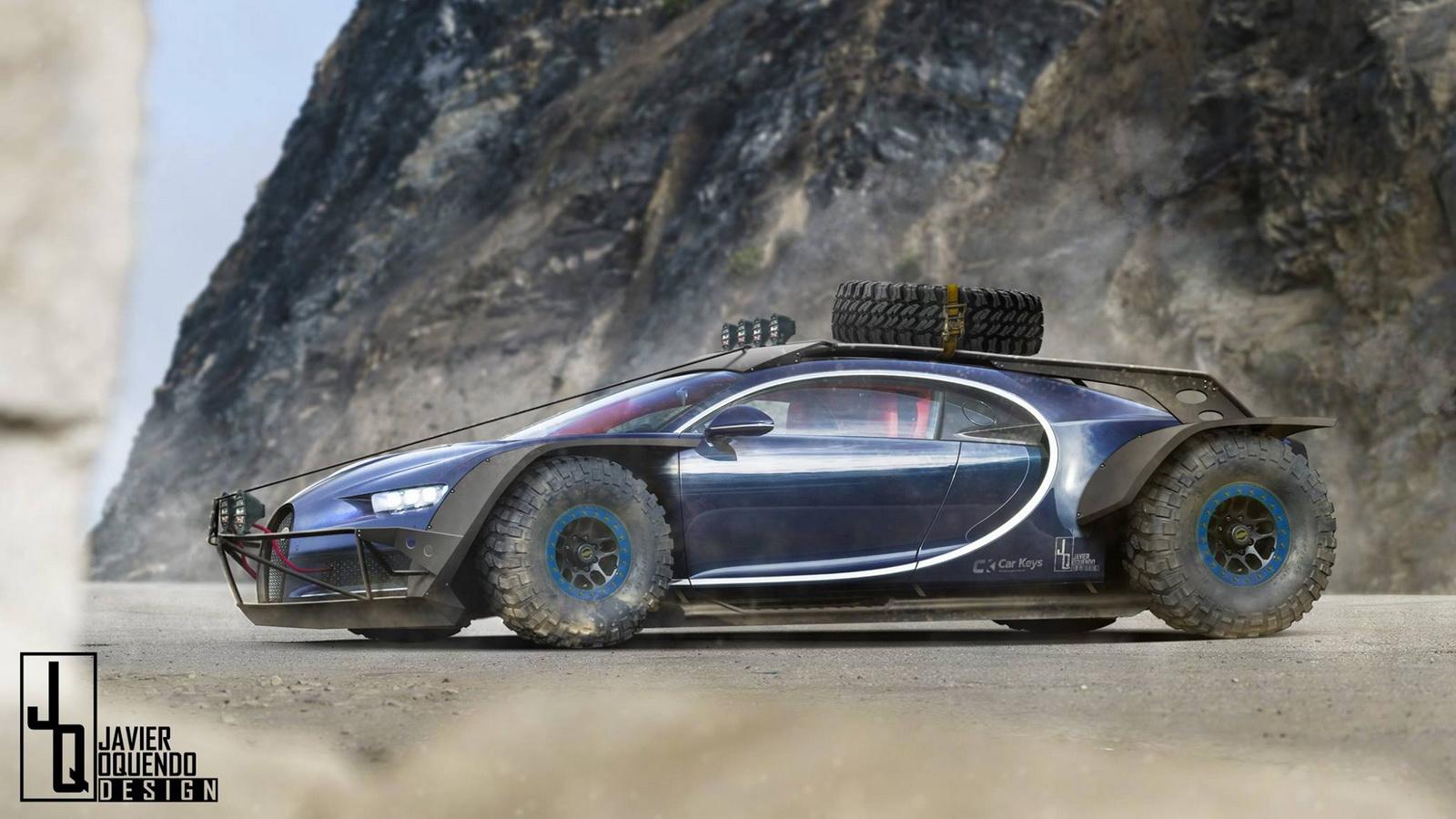 Photo of H Bugatti Chiron όπως δεν την έχετε ξαναδεί!