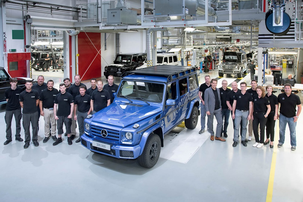 Photo of 300.000 Mercedes G-Wagen σε 38 χρόνια