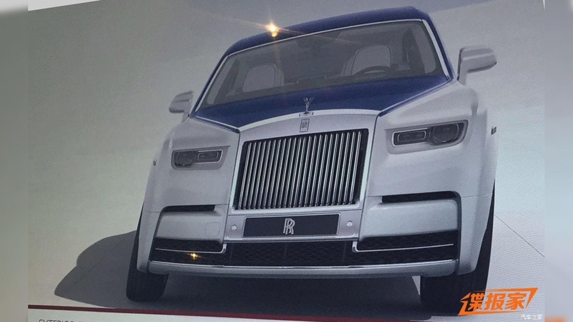 Photo of Πρώτη γεύση από τη νέα Rolls-Royce Phantom