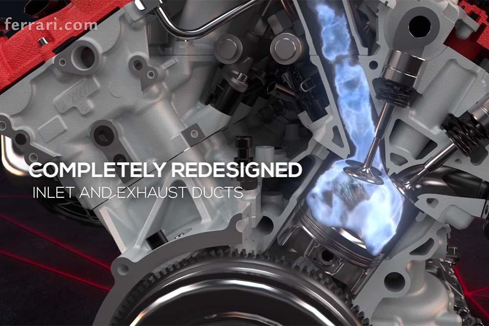 Photo of Αυτός είναι ο ισχυρότερος κινητήρας παραγωγής της Ferrari [vid]