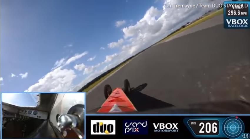 Photo of Σοκάρει ατύχημα σε dragster με 400 χλμ./ώρα [vid]