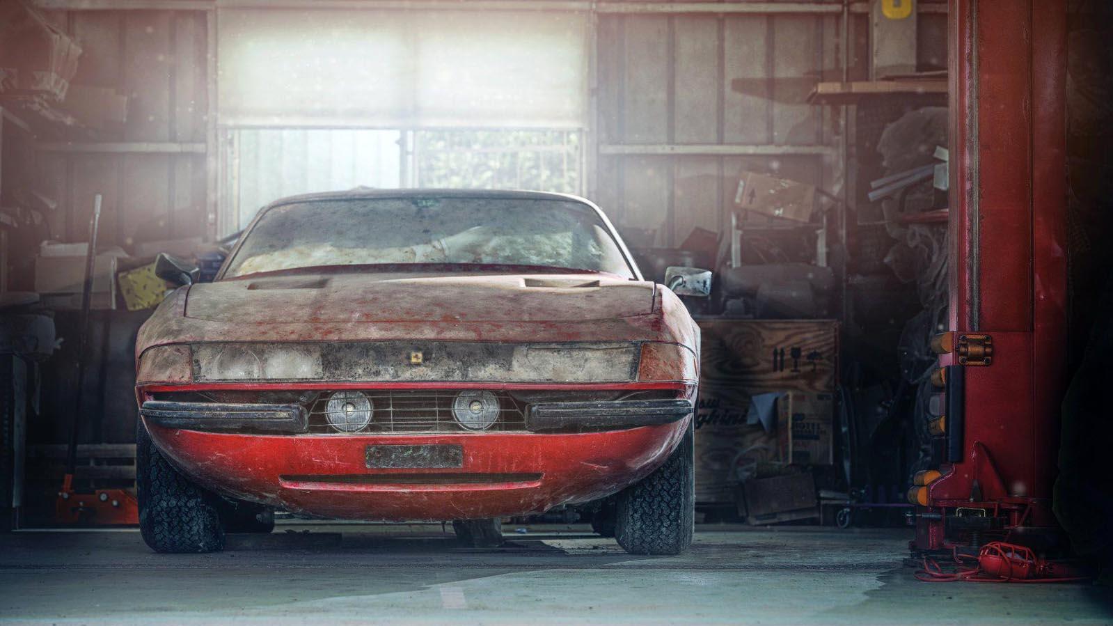 Photo of Πόσο πωλήθηκε η «θαμμένη» Ferrari Datytona;