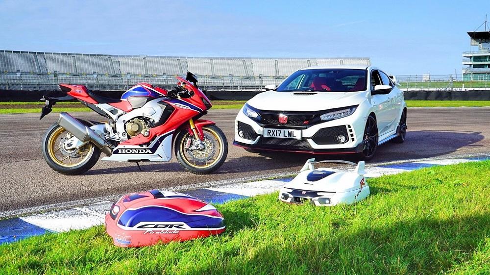 Photo of Χορτοκοπτικά Honda Type-R και Fireblade!