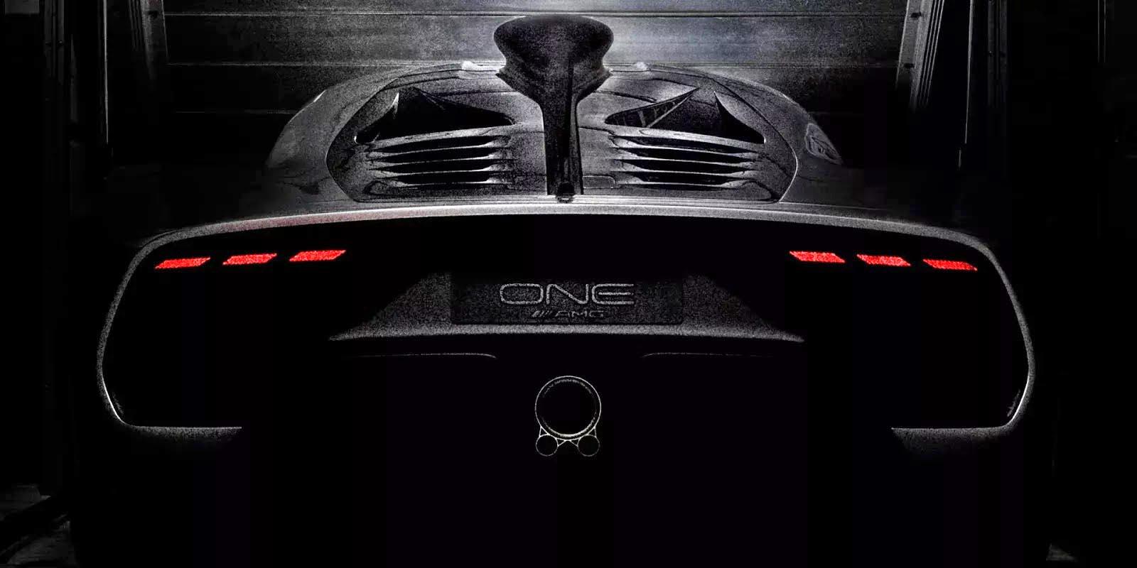 Photo of Από άλλο πλανήτη το πίσω μέρος της Mercedes-AMG Project One!