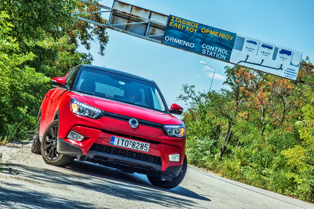 Photo of SsangYong Tivoli ECO LPG [on the road]