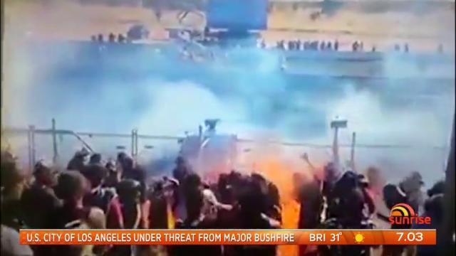 Photo of Burnout με λούσιμο βενζίνης στους θεατές! [vid]